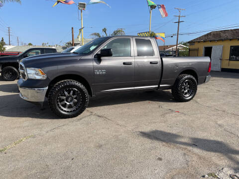 2014 RAM Ram Pickup 1500 for sale at JR'S AUTO SALES in Pacoima CA