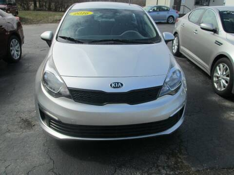 2016 Kia Rio for sale at Knauff & Sons Motor Sales in New Vienna OH