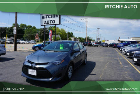 2017 Toyota Corolla for sale at Ritchie Auto in Appleton WI