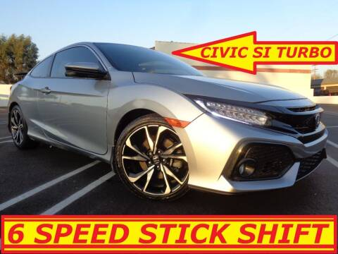 2018 Honda Civic for sale at ALL STAR TRUCKS INC in Los Angeles CA