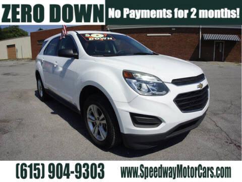 2017 Chevrolet Equinox for sale at Speedway Motors in Murfreesboro TN