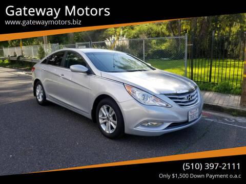 2013 Hyundai Sonata for sale at Gateway Motors in Hayward CA