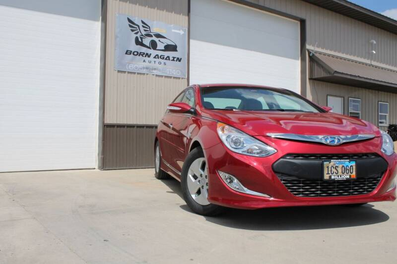 2012 Hyundai Sonata Hybrid for sale at Born Again Auto's in Sioux Falls SD