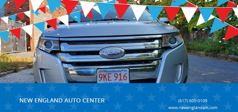 2012 Ford Edge for sale at NEW ENGLAND AUTO CENTER in Lowell MA