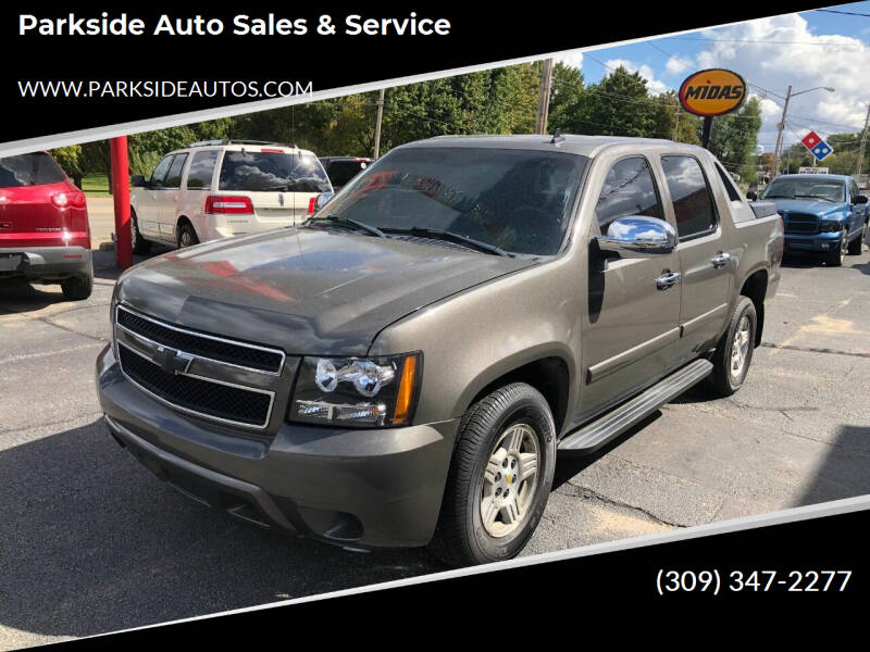 2008 Chevrolet Avalanche for sale at Parkside Auto Sales & Service in Pekin IL