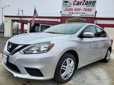 2016 Nissan Sentra for sale at CarZone in Marysville CA