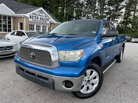 2007 Toyota Tundra for sale at Philip Motors Inc in Snellville GA