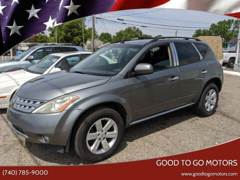 2006 Nissan Murano for sale at Good To Go Motors in Lancaster OH
