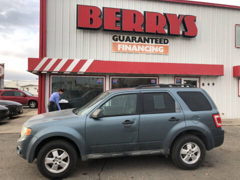 2010 Ford Escape for sale at Berry's Cherries Auto in Billings MT
