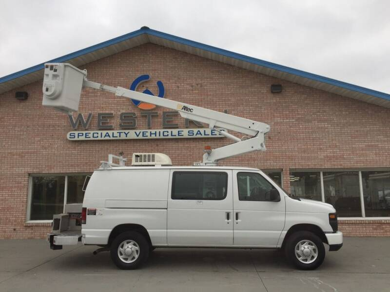 2012 Ford E-350 Bucket Van for sale at Western Specialty Vehicle Sales in Braidwood IL
