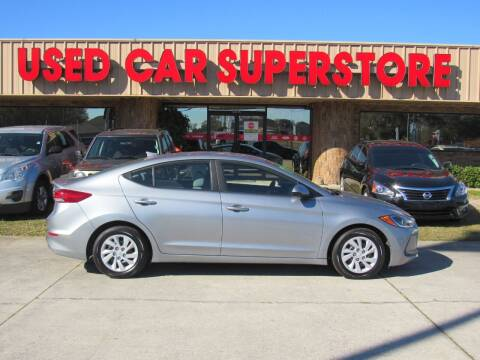 2017 Hyundai Elantra for sale at Checkered Flag Auto Sales NORTH in Lakeland FL