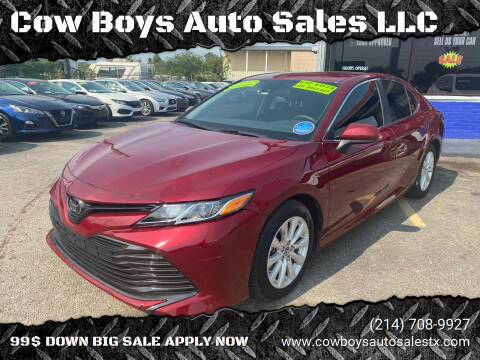 2019 Toyota Camry for sale at Cow Boys Auto Sales LLC in Garland TX