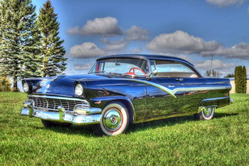 1956 Ford Victoria  for sale at Hooked On Classics in Watertown MN