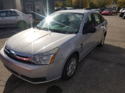 2008 Ford Focus for sale at D & D All American Auto Sales in Mt Clemens MI