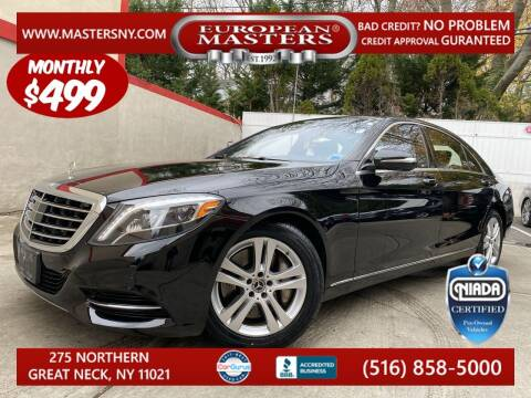 2017 Mercedes-Benz S-Class for sale at European Masters in Great Neck NY