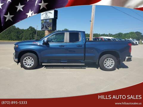 2019 Chevrolet Silverado 1500 for sale at Hills Auto Sales in Salem AR