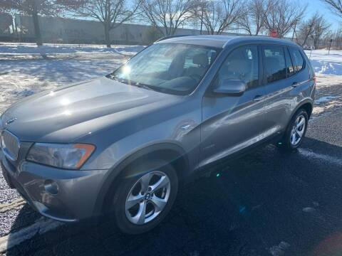2012 BMW X3 for sale at Bluesky Auto in Bound Brook NJ