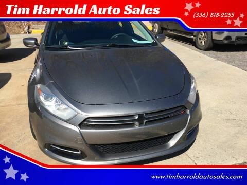 2013 Dodge Dart for sale at Tim Harrold Auto Sales in Wilkesboro NC
