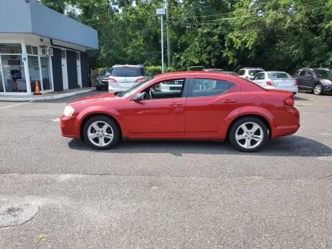 2013 Dodge Avenger for sale at CANDOR INC in Toms River NJ