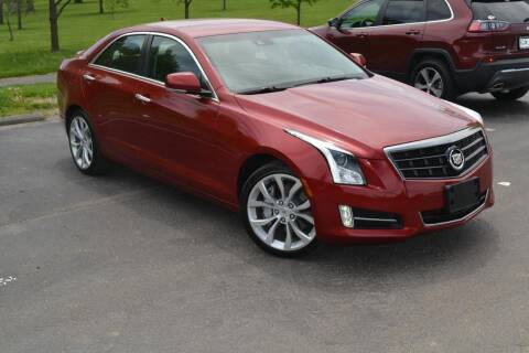 2014 Cadillac ATS for sale at GLADSTONE AUTO SALES    GUARANTEED CREDIT APPROVAL in Gladstone MO