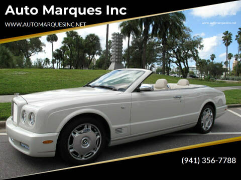 2008 Bentley Azure for sale at Auto Marques Inc in Sarasota FL