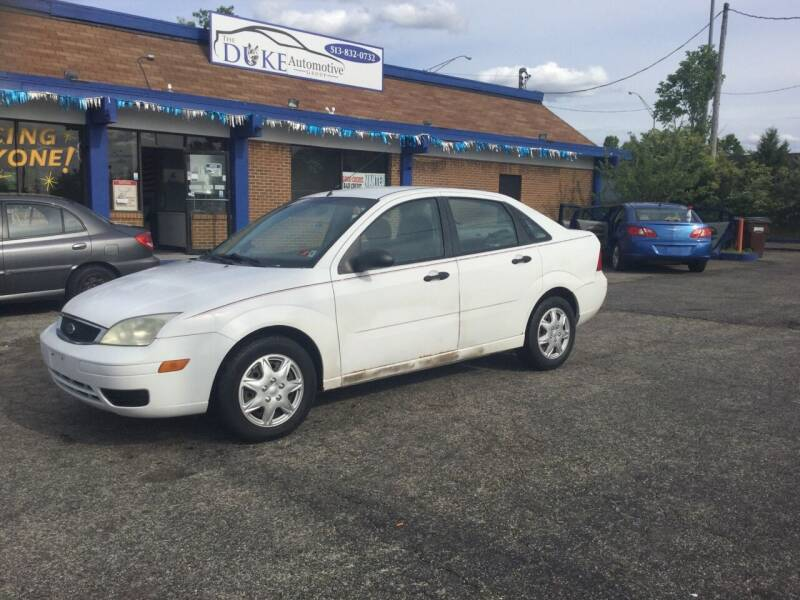 2005 Ford Focus for sale at Duke Automotive Group in Cincinnati OH