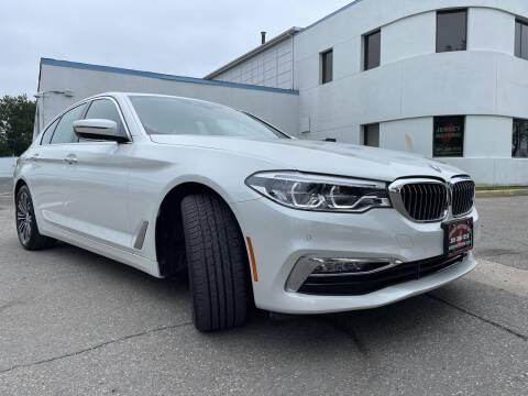 2018 BMW 5 Series for sale at JerseyMotorsInc.com in Teterboro NJ