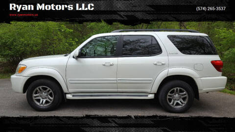 2005 Toyota Sequoia for sale at Ryan Motors LLC in Warsaw IN