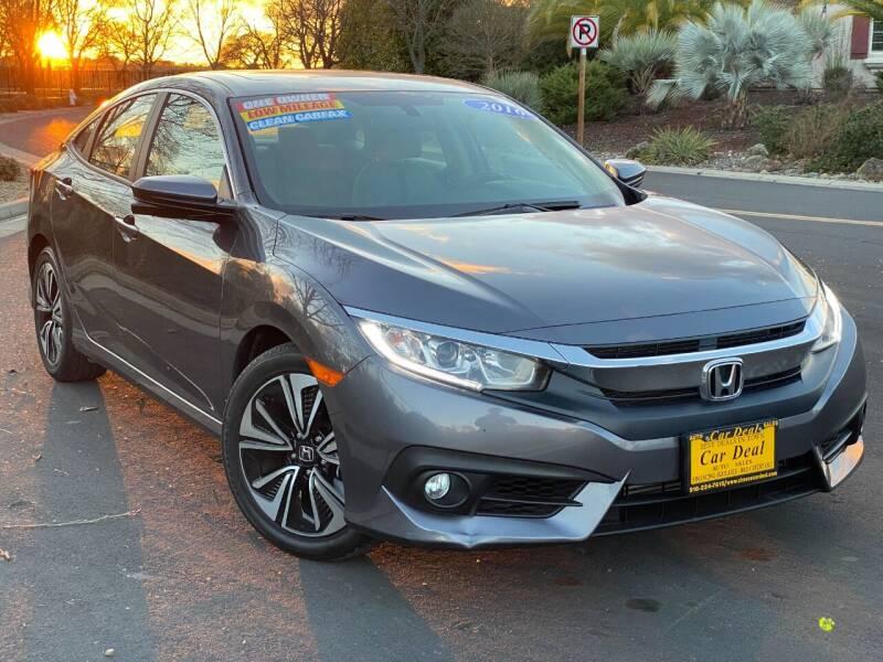 2016 Honda Civic for sale at Car Deal Auto Sales in Sacramento CA
