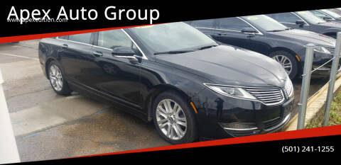 2016 Lincoln MKZ Hybrid for sale at Apex Auto Group in Cabot AR