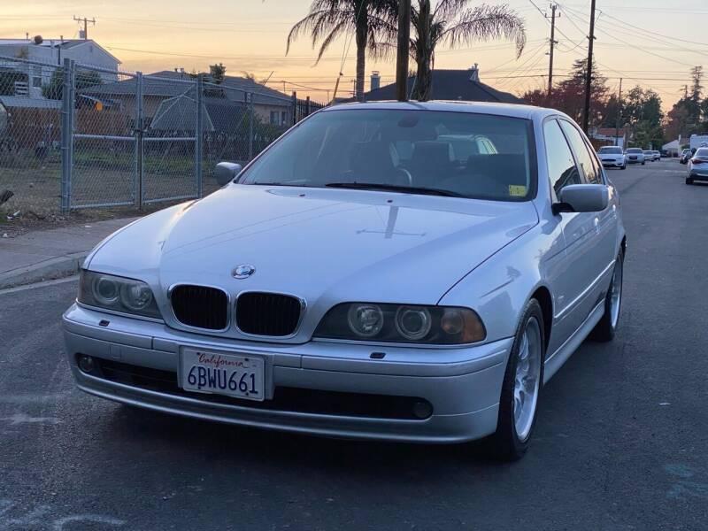 2002 BMW 5 Series for sale at ZaZa Motors in San Leandro CA