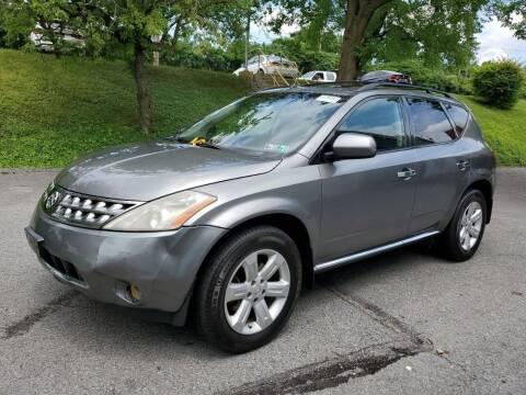 2007 Nissan Murano for sale at Penn American Motors LLC in Allentown PA