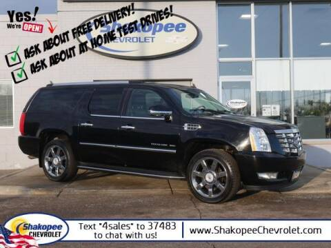 2010 Cadillac Escalade ESV for sale at SHAKOPEE CHEVROLET in Shakopee MN