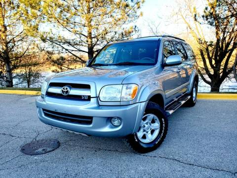 2005 Toyota Sequoia for sale at Excalibur Auto Sales in Palatine IL