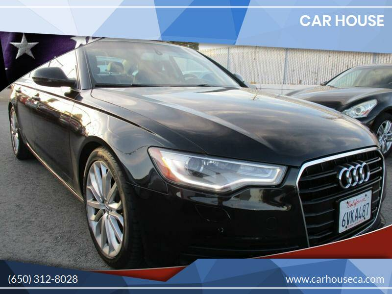 2012 Audi A6 for sale at Car House in San Mateo CA
