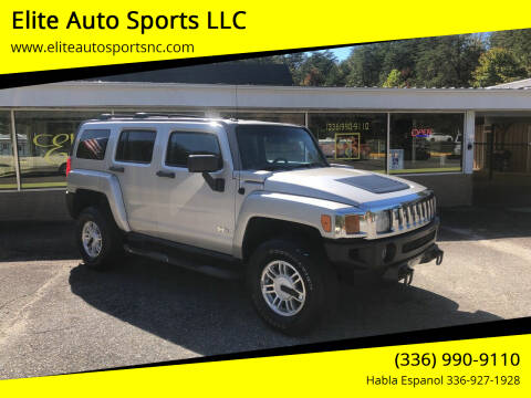 2006 HUMMER H3 for sale at Elite Auto Sports LLC in Wilkesboro NC