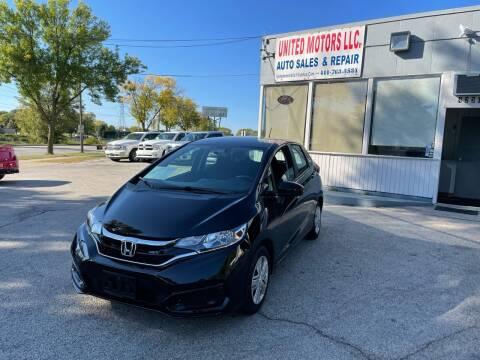 2020 Honda Fit for sale at United Motors LLC in Saint Francis WI