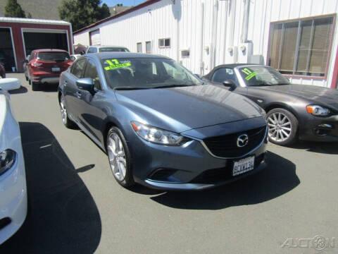 2017 Mazda MAZDA6 for sale at Guy Strohmeiers Auto Center in Lakeport CA