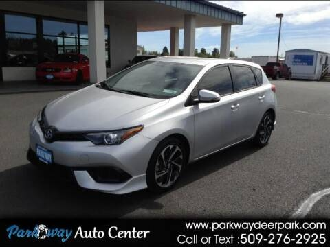 2016 Scion iM for sale at PARKWAY AUTO CENTER AND RV in Deer Park WA