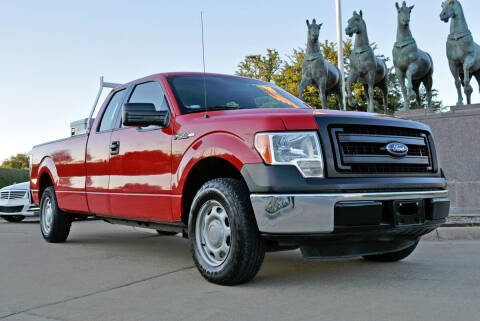 2014 Ford F-150 for sale at European Motor Cars LTD in Fort Worth TX