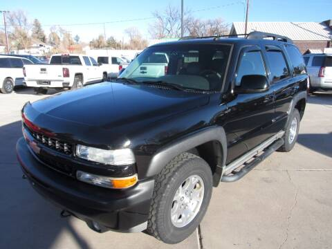 2003 Chevrolet Tahoe for sale at HOO MOTORS in Kiowa CO