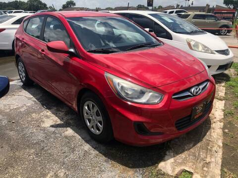 2012 Hyundai Accent for sale at MILLENIUM MOTOR SALES, INC. in Rosenberg TX