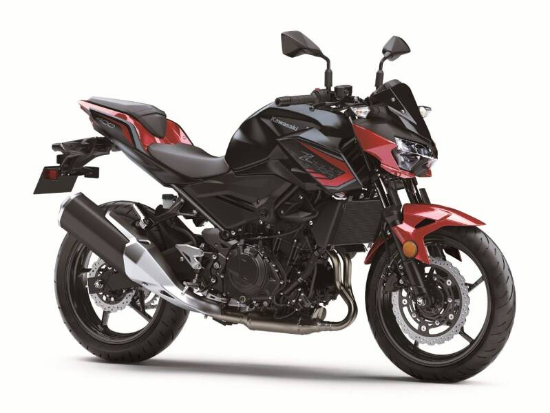 2021 Kawasaki Z400 ABS for sale at Queen City Motors Inc. in Dickinson ND