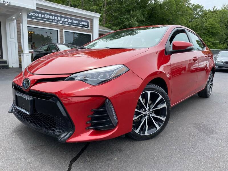 2017 Toyota Corolla for sale at Ocean State Auto Sales in Johnston RI