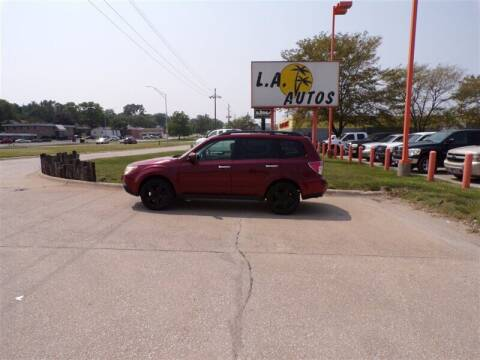 2009 Subaru Forester for sale at L A AUTOS in Omaha NE