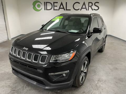 2017 Jeep Compass for sale at Ideal Cars in Mesa AZ