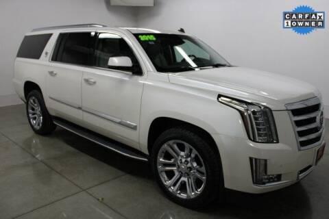 2015 Cadillac Escalade ESV for sale at Bob Clapper Automotive, Inc in Janesville WI