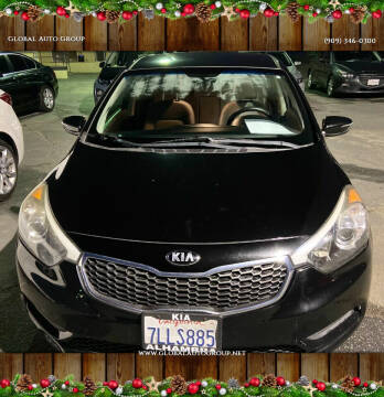 2014 Kia Forte for sale at Global Auto Group in Fontana CA