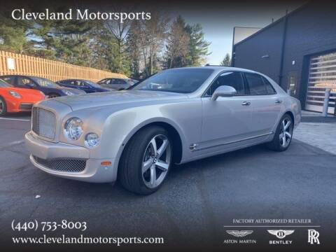 2014 Bentley Mulsanne for sale at Drive Options in North Olmsted OH