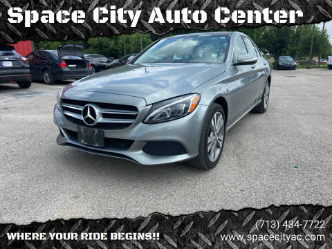 2015 Mercedes-Benz C-Class for sale at Space City Auto Center in Houston TX